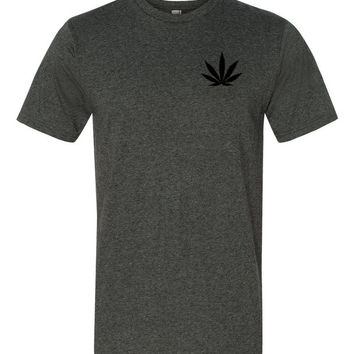 Marijuana Cannabis Leaf Short sleeve unisex t-shirt