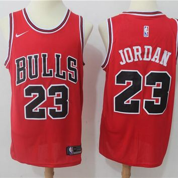 Best Deal Online NBA Basketball Swingman Jerseys Chicago Bulls # 23 Michael Jordan Red
