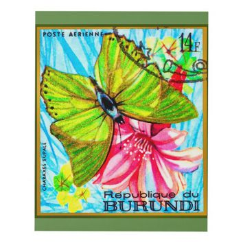 Butterfly Charaxes Eupale Panel Wall Art