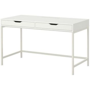 Ikea Alex Computer Desk with Drawers White 18210.20223.416 - Walmart.com