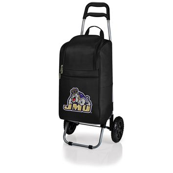 James Madison Dukes Cart Cooler with Trolley-Black Digital Print
