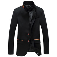 Business Men Suits Men Blazers Mens Suits Casual Slim Fit Blazers Gray Black Plus BL