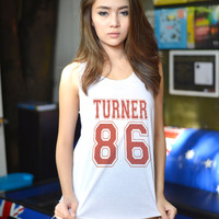 Alex Turner Shirt Arctic Monkeys T Shirt Tank Top Women TShirt