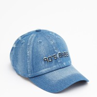 Distressed Denim 90's Baby Baseball hat | Hats & Beanies | rue21