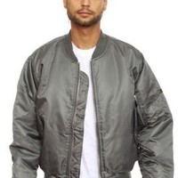 Rothco, (7350) MA-1 Flight Jacket - Gunmetal - Rothco - MOOSE Limited