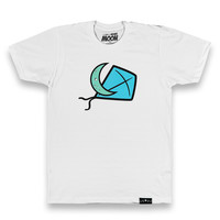 Lunar Kite Tee in White 3