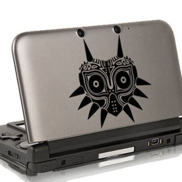 Majora Mask decal, sticker for 3ds 3ds XL
