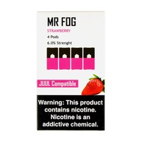 Mr Fog Strawberry 4 Pods