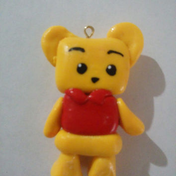 Winnie the Pooh Inspired Clay Charm