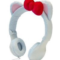 Hello Kitty Decal and Headphones Kit for iPhone, iPad and Android Smart Phones.