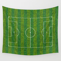Football's coming home o2 Wall Tapestry by Steffi Louis Finds&art