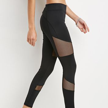 Active Mesh Insert Leggings