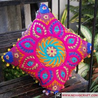 Neha's craft - Tapestries, Cushion Covers Home Decor, Fabric - Suzani Cushion Covers