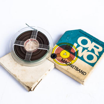 Vintage Magnetophon Tape Recorder Reel to Reel Magnetic Band Orwo Music