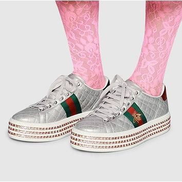 GUCCI Ace sneaker with crystals-1