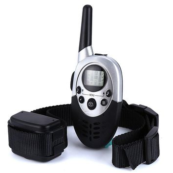 Top Sale E613 Waterproof 8 Levels Shock 8 Levels Vibration LCD Pet Dog Training Collar Rechargeable 1000M Remote Electric Tool