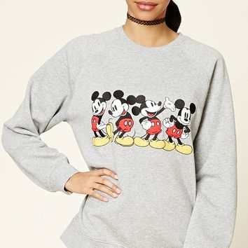 Mickey Patch Graphic Sweatshirt