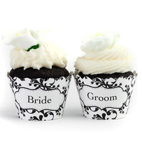 Wedding Cupcake Wrappers