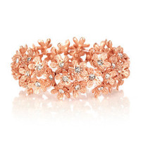 Oasis Jewellery | Crystal Flower Stretch Bracelet | Womens Fashion Clothing | Oasis Stores UK