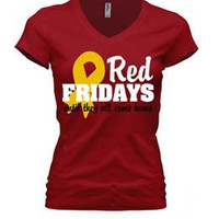 Go Marines- Red Fridays Until They all Come Home. T Shirt