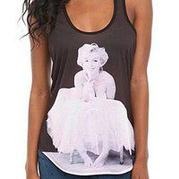 Marilyn Monroe Ballerina Girls Tank Top - 328855