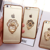 Hot Deal Hot Sale On Sale Iphone 6/6s Stylish Cute Ring Soft Apple Phone Case [6281935302]