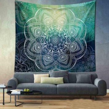 VONESC6 Indian Bohemian Flower Tapestry Wall Hanging Throw Mandala Towel Beach Yoga Mat 130cmx150cm/150cmx210cm Table cloths Wall Carpet