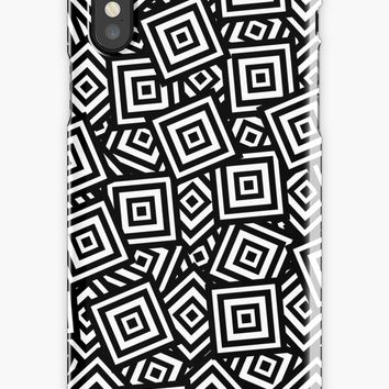 'Pile of Squares' iPhone Case/Skin by derpfudge