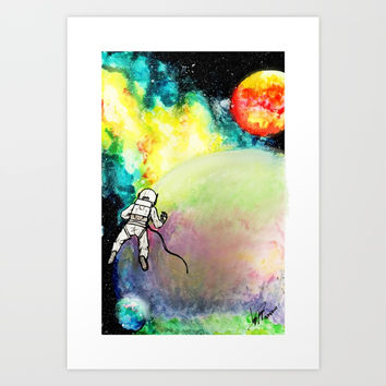 Lost and Found Art Print by JorgeLo Art