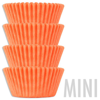 Mini Peach Baking Cups