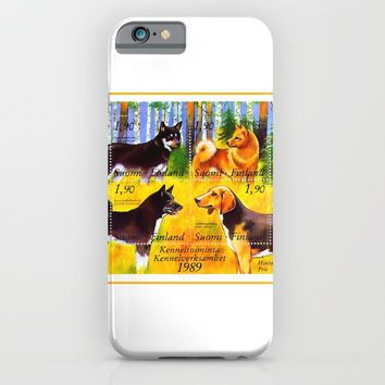 100 Years Union of Finnish Dog Breeders iPhone & iPod Case by lanjee