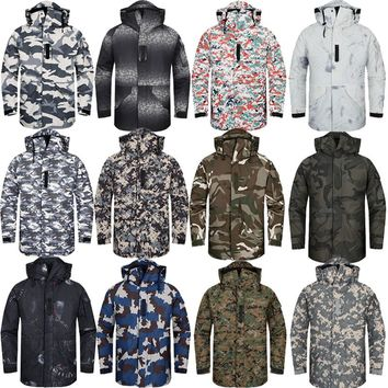 "New Premium ""SouthPlay"" Winter Season Waterproof 10,000mm Warming Ski & Snowboard Army Military Jackets"