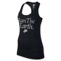 Women's Nike RU Run The Earth Tank