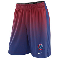 Nike Chicago Cubs 2014 Cage Performance Shorts - Red/Royal Blue