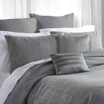 DKNY Bedding City Line Duvet - Grey -
