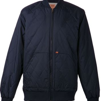 Obey quilted bomber jacket