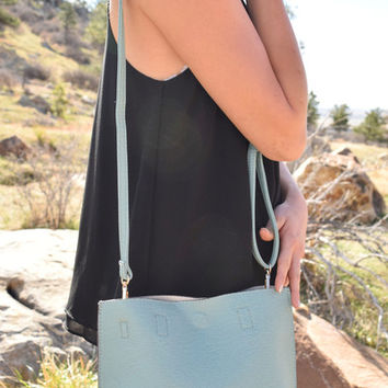 Street Level Crossbody Bag Sage