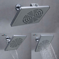 Water Saving Rainfall Square Shower Head