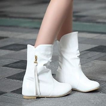 PEAPIX3 short boots high heel shoes ankle winter fashion sexy warm long women snow boot pumps on sale EUR size 34-39 = 1946701124