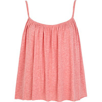 River Island Womens Light orange babydoll cami top