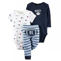 Baby Rompers Summer Girls Clothing Sets Short Sleeve Newborn Baby Clothes Roupa Bebe Autumn Baby Boy Clothes Infant Jumpsuits