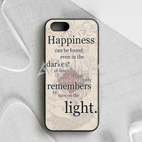 Happiness Quote Harry Potter iPhone 5|5S|SE  Case | armeyla.com