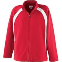 Girl's Double Knit Jacket from Augusta Sportswear