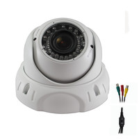 Avemia HD-SDI Night Vision Weather Proof Vari-focal Dome Camera-White