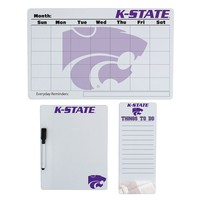 Kansas State Wildcats Dry Erase Board Set (Kst Team)