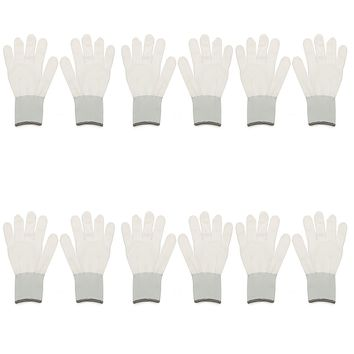Safurance 6 Pairs Wrapping Gloves Application Tools For Car Wrap Vinyl Sticker Workplace Safety Security Protection