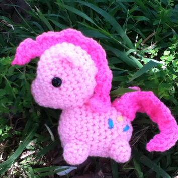 Pinkie Pie My Little Pony Crocheted plush