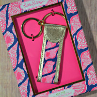 LILLY PULITZER: Key Fob - Cute as Shell