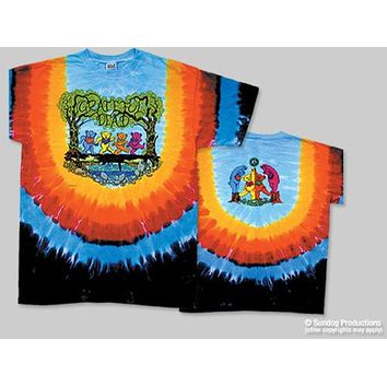Grateful Dead Wood Bears Tie Dye T-Shirt