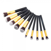"10 pcs  Professional Cosmetic Makeup Brushes ""Available in Colors"""